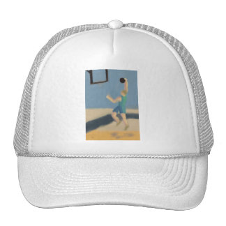 Salto del baloncesto, gorra