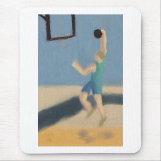 Salto del baloncesto, Mousepad