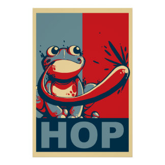 Salto del candidato posters