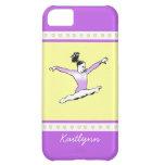 Salto del caso del iPhone 5c del gimnasta