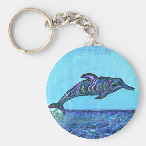 Salto del delfín llavero