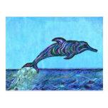 Salto del delfín postales