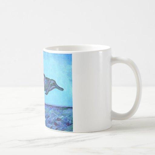 Salto del delfín taza