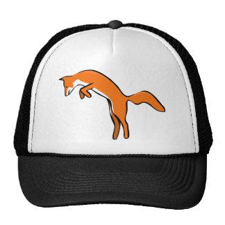 Salto del Fox rojo Gorros