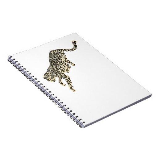 Salto del guepardo libretas espirales