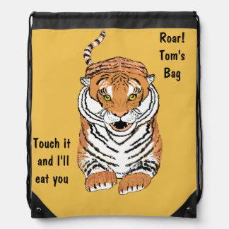 Salto del lazo Backbacks del tigre Mochila