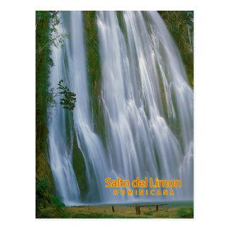 Salto del Limon Dominicana Post Card