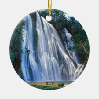 Salto del Liomon Dominicana Ceramic Ornament