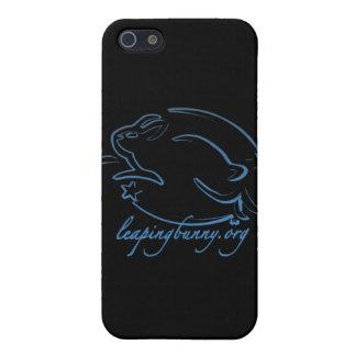 Salto del logotipo del conejito iPhone 5 fundas