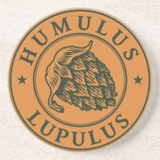 Salto del lupulus del Humulus para la cerveza del Posavasos De Arenisca
