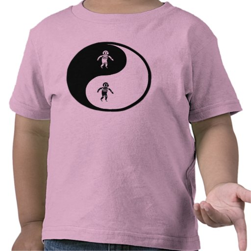 Salto del mar profundo de Yin Yang Camisetas