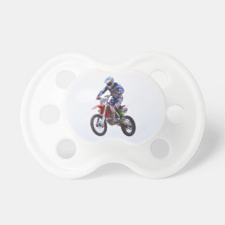 Salto del motocrós chupetes