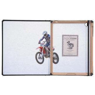 Salto del motocrós iPad funda