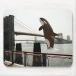 Salto del puente de Brooklyn Mousepad