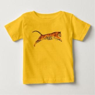 Salto del tigre playera de bebé