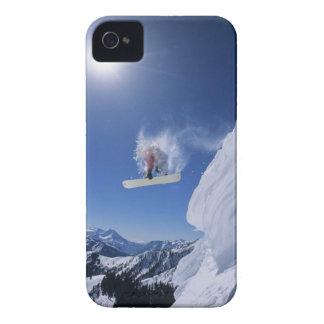 Salto en el barranco de la cala de la serpiente de Case-Mate iPhone 4 coberturas