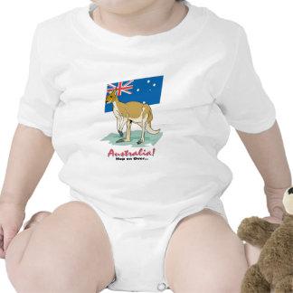 Salto encendido encima traje de bebé