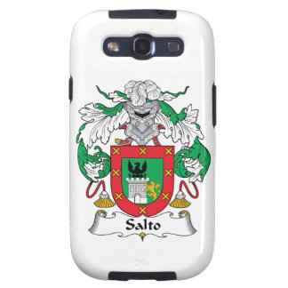 Salto Family Crest Galaxy SIII Cases