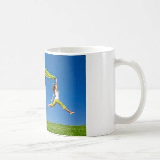 salto fresco de la dicha taza clásica