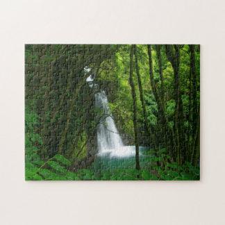 Salto hace la cascada de Prego Puzzle Con Fotos