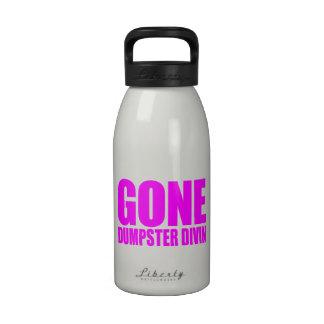 SALTO IDO del CONTENEDOR, comida divertida Meme -  Botellas De Agua Reutilizables