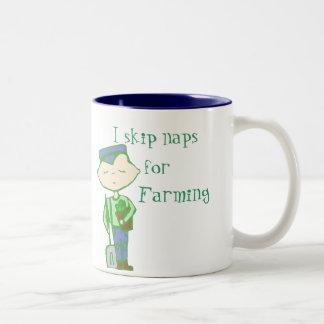 Salto las siestas para cultivar la taza