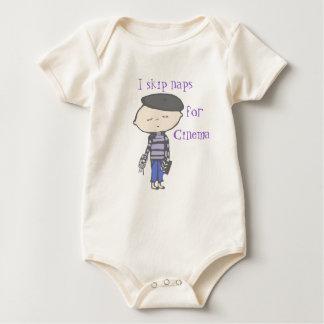 salto las siestas para el bebé del cine body para bebé