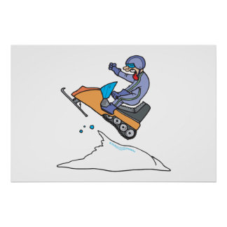 Salto Snowmobiling Posters