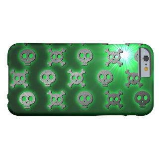 Salto verde del cráneo funda para iPhone 6 barely there