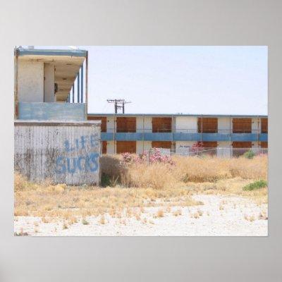 Salton Sea Abandoned Hotel