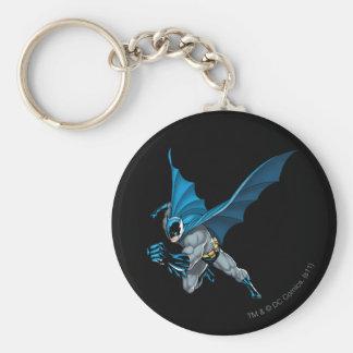 Saltos de Batman - brazo adelante Llavero Redondo Tipo Pin