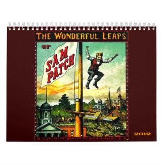 Saltos maravillosos - calendario