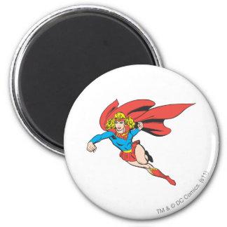 Saltos y sacadores de Supergirl Iman Para Frigorífico