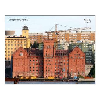Saltsjöqvarn, Nacka,, Photo Ola ... Postcard