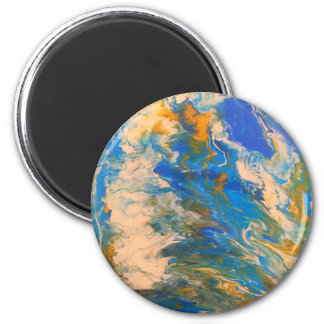 Saltwater abstract magnet