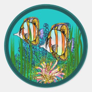 Saltwater Aquarium Stickers