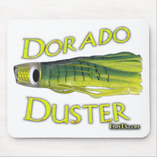 saltwater big gamefish bait for dorado and marlin mouse pad
