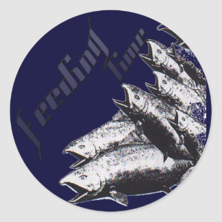 SaltWater Collection Classic Round Sticker