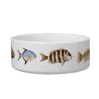 Saltwater Fish Cat Bowl