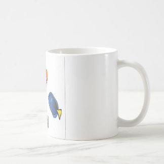 Saltwater fish design coffee mug