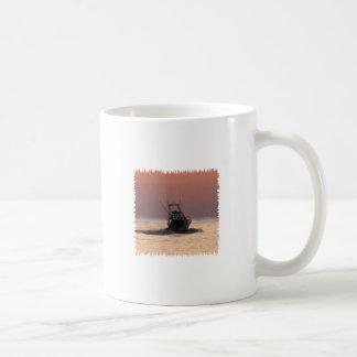 Saltwater Fishing Boat Coffee Mug