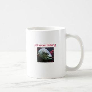 Saltwater Fishing Logo (grouper) Coffee Mug