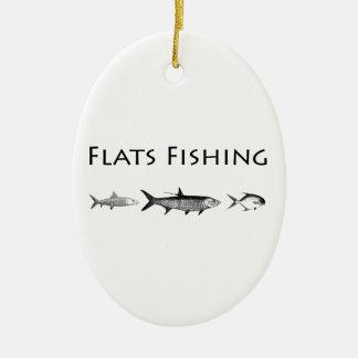 Saltwater Flats Fish Species Ceramic Ornament