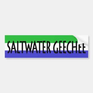 Saltwater Geechee Bumper Sticker