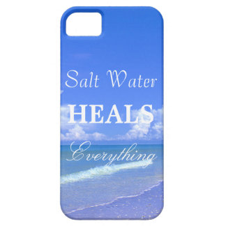 Saltwater Heals Everything iPhone 5 Cases