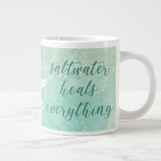 Saltwater Heals Everything | Mug