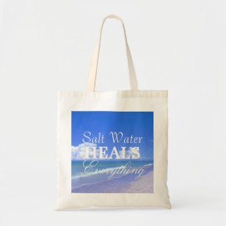 Saltwater Heals Everything Tote Bag