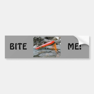 Saltwater Lure Popper Firebird Coordinating Items Bumper Sticker