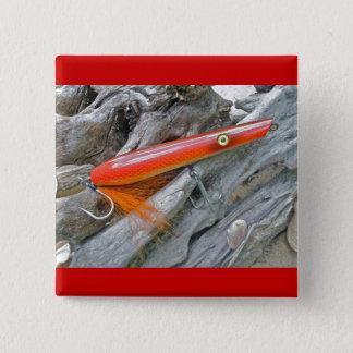 Saltwater Lure Popper Firebird Coordinating Items Pinback Button