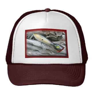 Saltwater Lure Popper Mullet Coordinating Items Trucker Hat